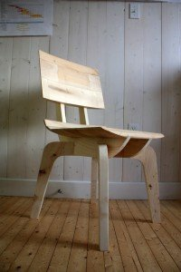 Punt Chair prototype 3